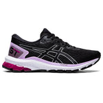 Asics Women's GT-1000 9 Running Shoes Black / Pure Silver - achilles heel