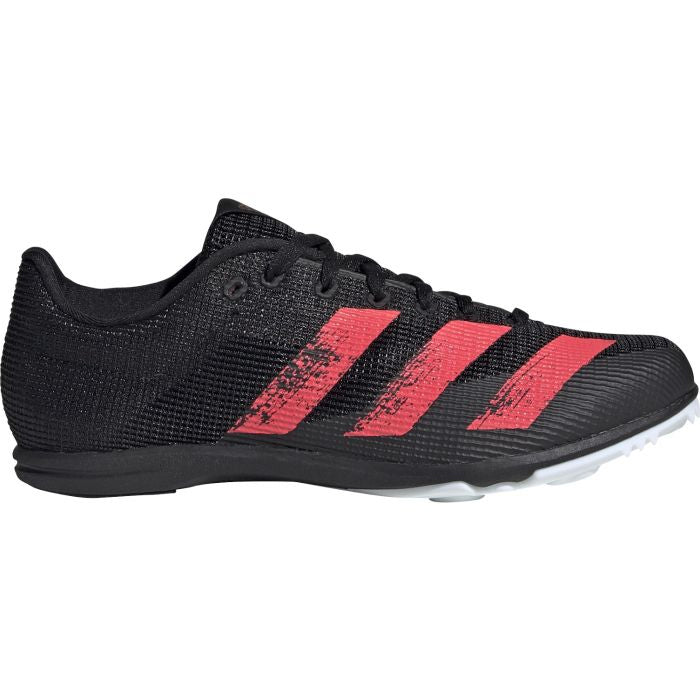 adidas Allround J Running Spikes Black / Red