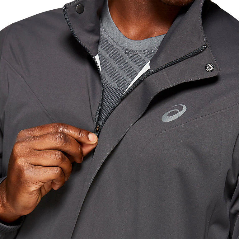 Asics Men's Accelerate Jacket Graphite Grey - achilles heel