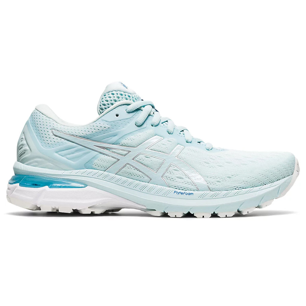 Asics Women's GT-2000 9 Running Shoes Aqua Angel / Pure Silver - achilles heel
