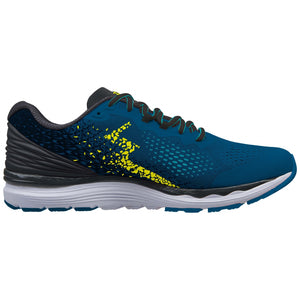 361 Degrees Men's Meraki 3 Running Shoes Mkyonos Blue / Black - achilles heel