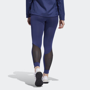 adidas Women's Own The Run Tight Indigo - achilles heel