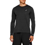 Asics Men's Seamless Top Dark Grey - achilles heel