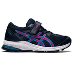 Asics Kids GT 1000 10 PS Running Shoes French Blue / Digital Grape - achilles heel