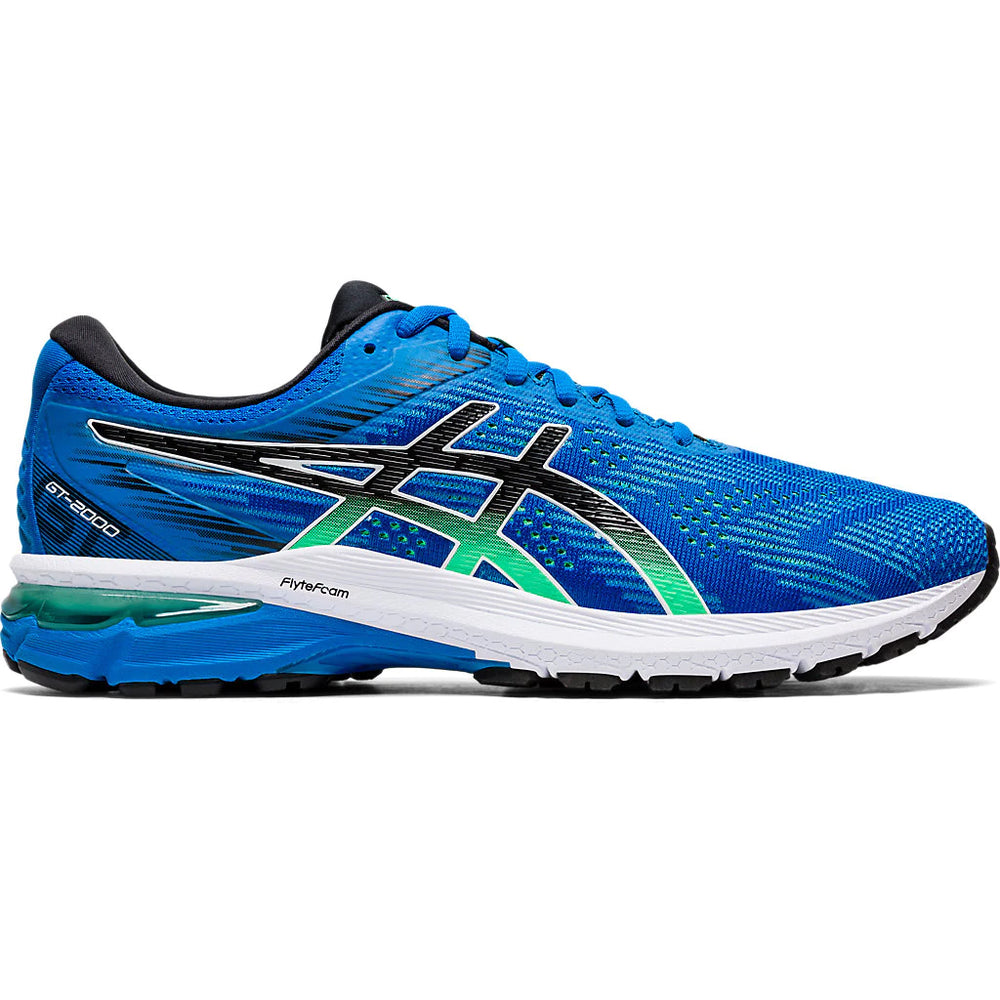 Asics Men's GT-2000 8 Running Shoes Electric Blue / Black