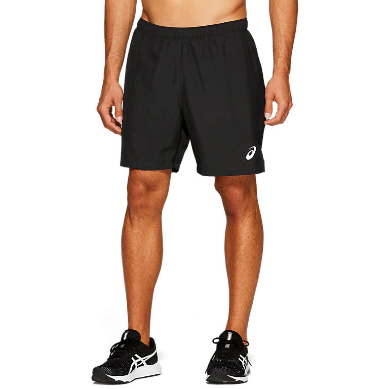 Asics Men's Silver 2 In 1 7 Inch Short Performance Black - achilles heel