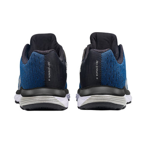 361 Degrees Men's Strata 4 Running Shoes Poseidon / Black - achilles heel