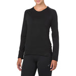Asics Women's Seamless Top Black - achilles heel