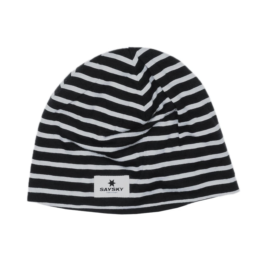 SAYSKY Merino Base 165 Hat Black / White - achilles heel