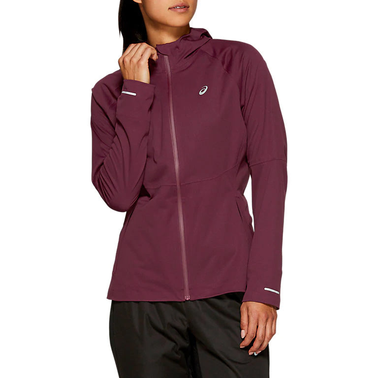 Asics Women's Accelerate Jacket Deep Mars