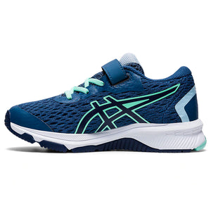 Asics Kids GT 1000 9 PS Running Shoes Grand Shark / Peacoat - achilles heel