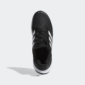 Adidas Kids Rapida Run J Running Shoes Black / White - achilles heel