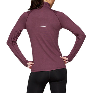 Asics Women's Thermopolis Top Deep Mars / Heather