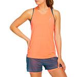 Asics Women's Race Sleeveless Tee Flash Coral - achilles heel