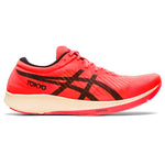 Asics Women's Metaracer Tokyo Running Shoes Sunrise Red / Black - achilles heel