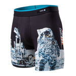 Stance Men's Moon Man Boxer Brief Black - achilles heel