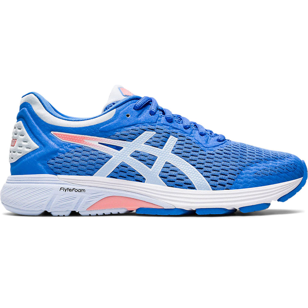 Asics Women's GT-4000 Running Shoes Blue Coast / Soft Sky - achilles heel