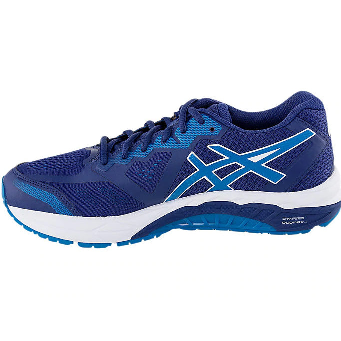 Asics Men's Gel-Foundation 13 2E Width Running Shoes Blue Print / Race Blue - achilles heel