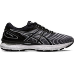 Asics Men's Gel-Nimbus 22 Running Shoes White / Black - achilles heel