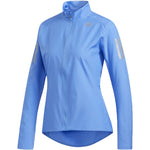 adidas Women's Own The Run Jacket Blue - achilles heel