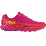 Hoka Women's Torrent Trail Running Shoes Cactus Flower / Poppy Red - achilles heel