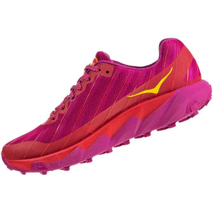 Hoka Women's Torrent Trail Running Shoes Cactus Flower / Poppy Red