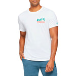 Asics Men's Run Global Tee White - achilles heel