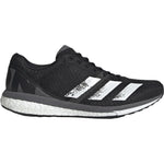 adidas Men's adiZero Boston 8 Running Shoes Black / Grey - achilles heel