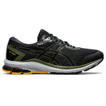 Asics Men's GT-1000 9 GORE-TEX Running Shoes Black / Smog Green - achilles heel
