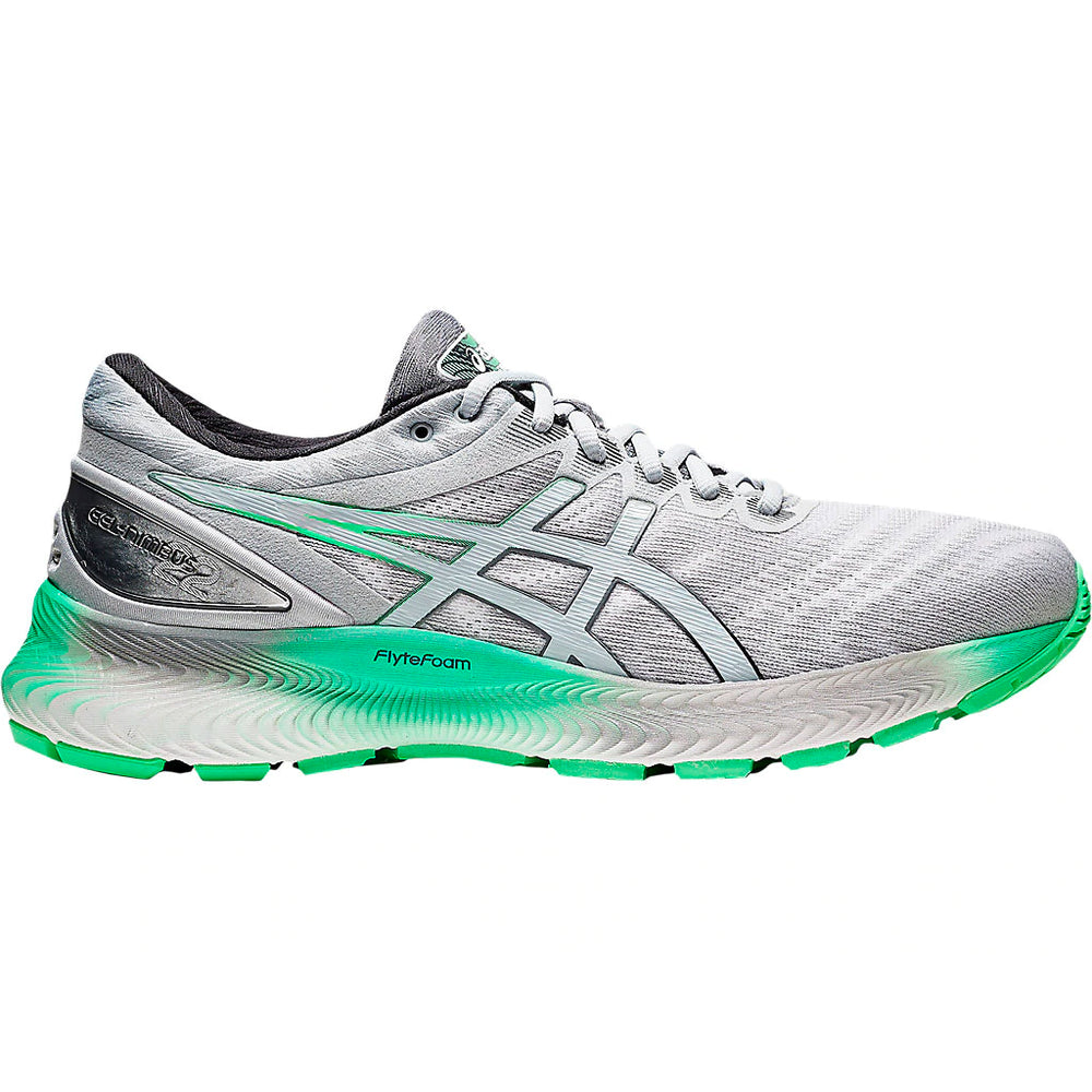 Asics Men's Gel-Nimbus Lite Running Shoes White / Piedmont Green - achilles heel