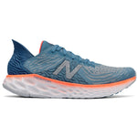 New Balance Men's 1080v10 Running Shoes Blue / Orange - achilles heel