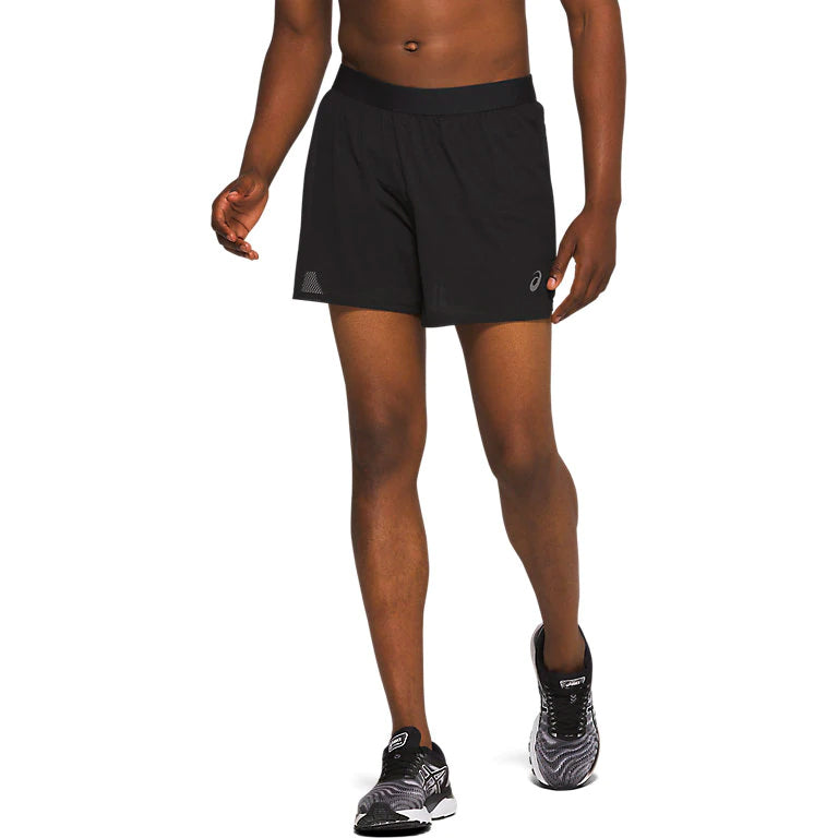 Asics Men's Ventilate 2 In 1 5 Inch Short Performance Black - achilles heel