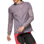 Asics Women's Packable Jacket Lavender Grey - achilles heel