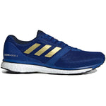adidas Men's adiZero Adios 4 Running Shoes Collegiate Royal / Gold Metallic / Navy