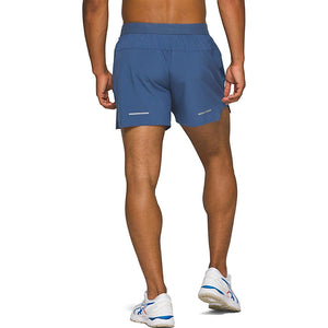 Asics Men's Road 5 Inch Short Grand Shark - achilles heel
