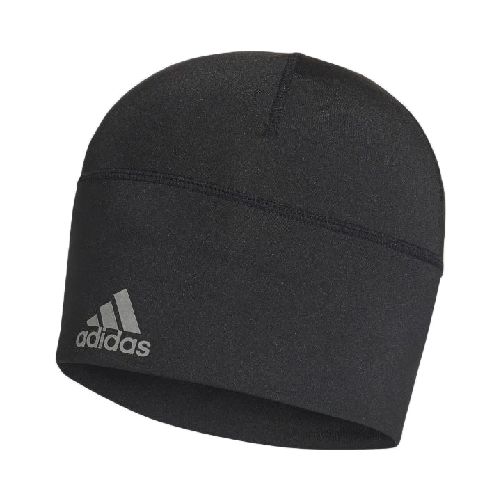 Adidas Aeroready Fitted Beanie Black / Reflective Silver - achilles heel
