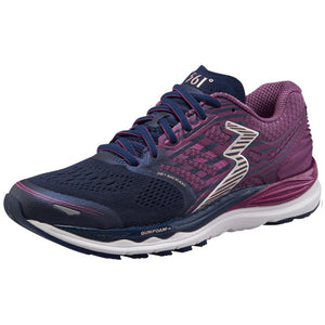 361 Degrees Women's Meraki Running Shoes Peacoat / Phlox - achilles heel