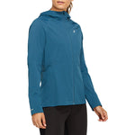 Asics Women's Accelerate Jacket Magnetic Blue - achilles heel