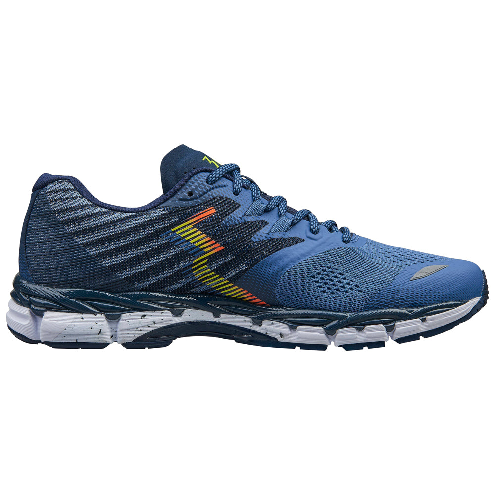 361 Degrees Men's Nemesis Running Shoes Moonlight Blue / Midnight - achilles heel