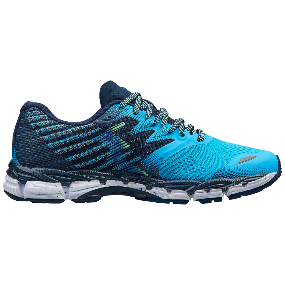 361 Degrees Women's Nemesis Running Shoes Aqua / Midnight - achilles heel