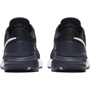 Nike Men's Zoom Structure 22 Running Shoes Black / White / Gridiron - achilles heel
