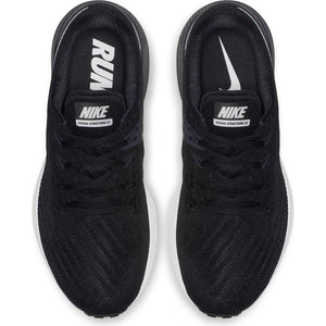 Nike Women's Zoom Structure 22 Running Shoes Black / White / Gridiron - achilles heel