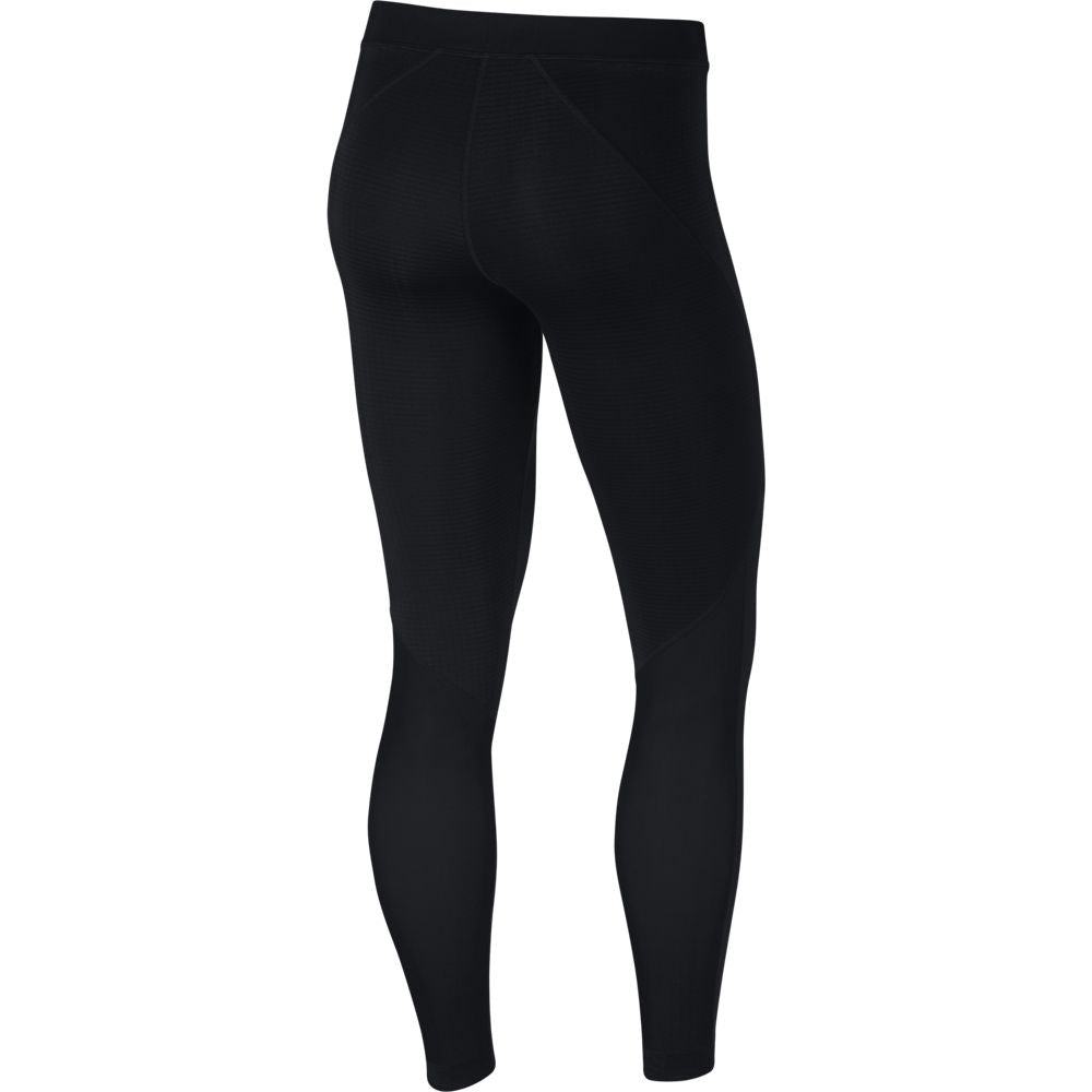 Nike Women's Pro Warm Mesh VNR Tight Black HO18 010