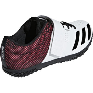 adidas Adizero HJ Field Shoes White / Black / Red - achilles heel