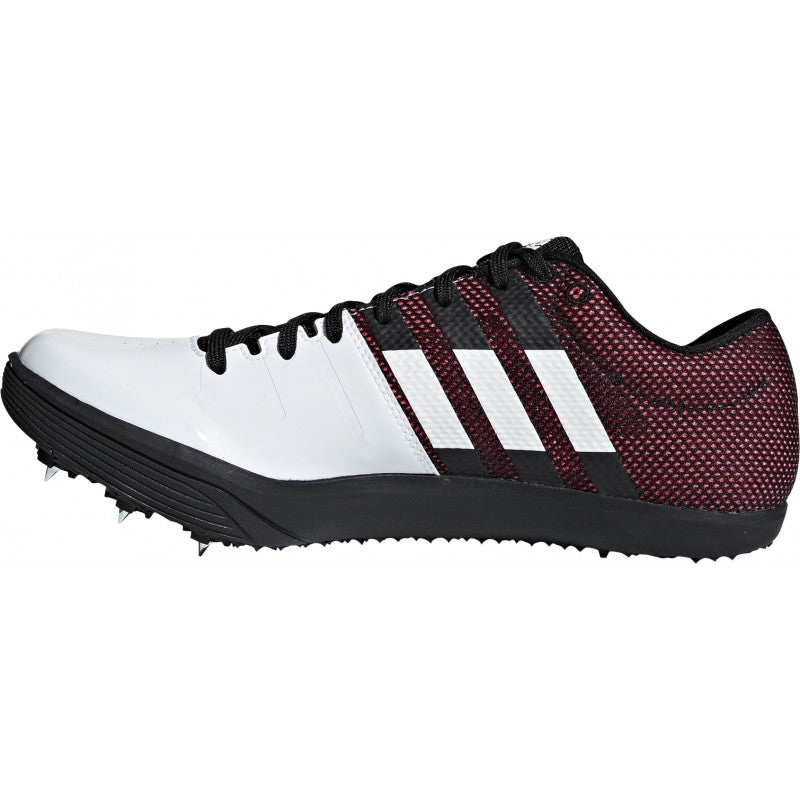 adidas Adizero LJ Field Shoes White / Black / Red - achilles heel