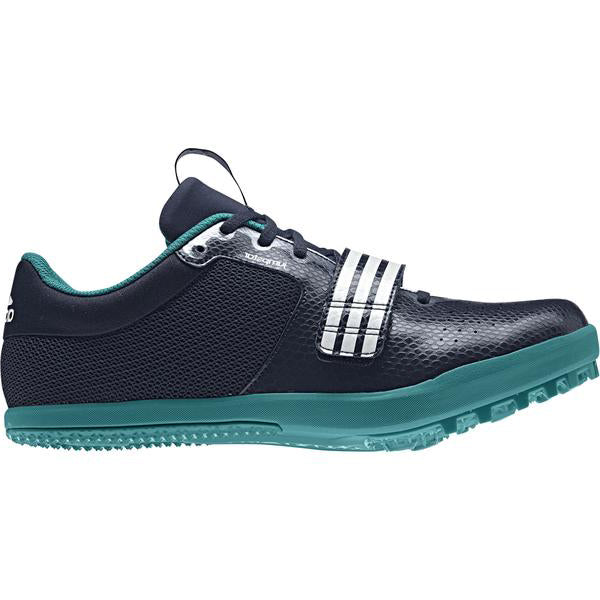 adidas Jumpstar Field Spikes Navy / Green - achilles heel