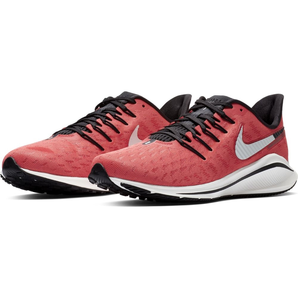 Nike Women's Air Zoom Vomero 14 Running Shoes Ember Glow / Sail Oil Grey / Glow Braise - achilles heel