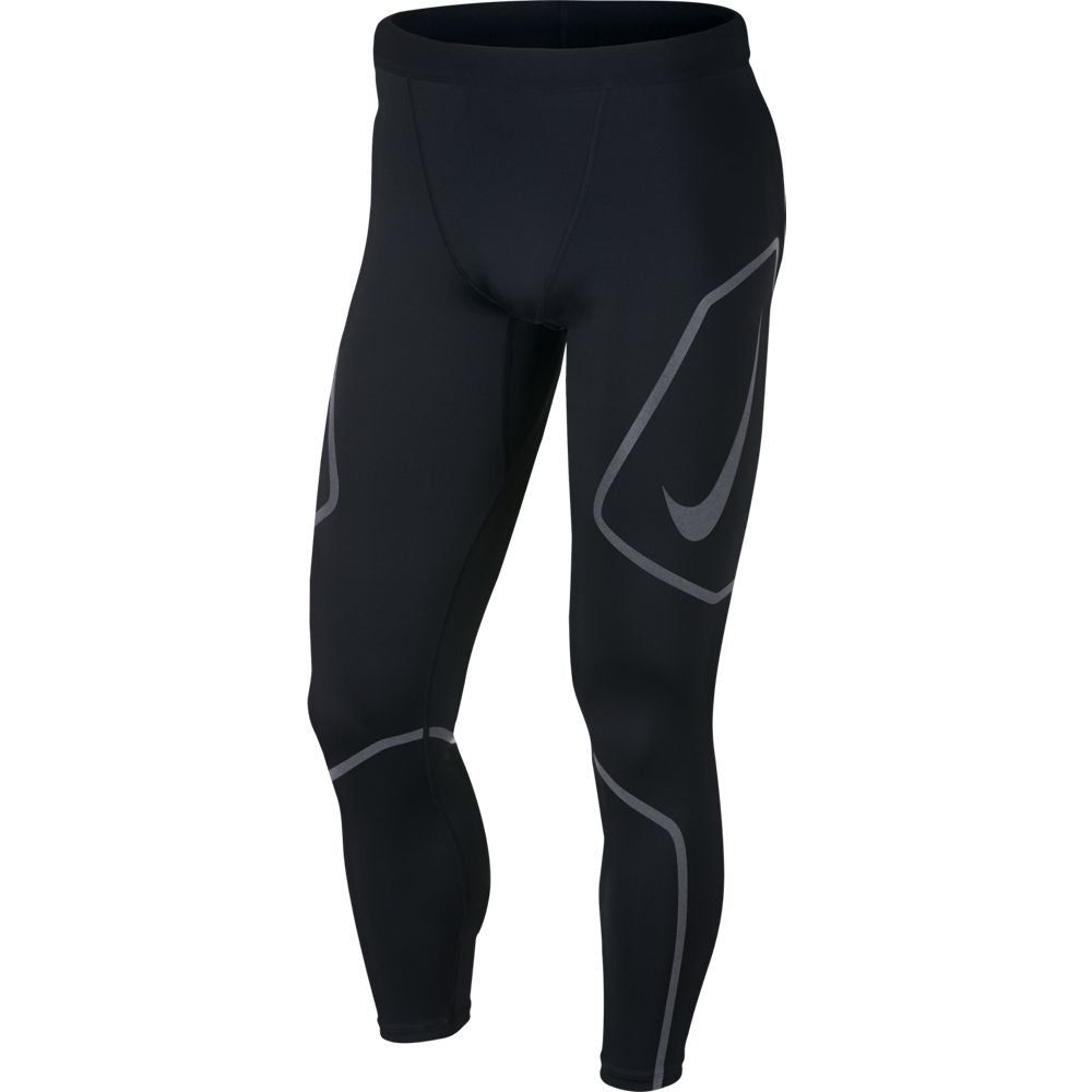 Nike Men's Run Graphic Tech Tight Black HO18 010