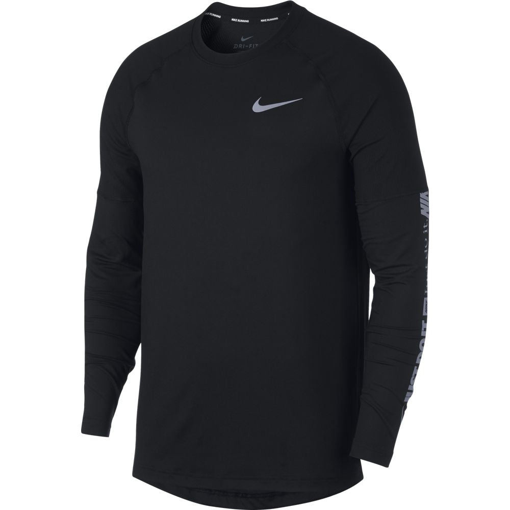 Nike Men's Dry Element Crew Top Black