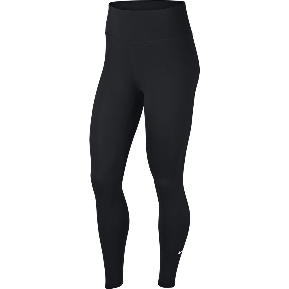 Nike Women's One Tight Black - achilles heel